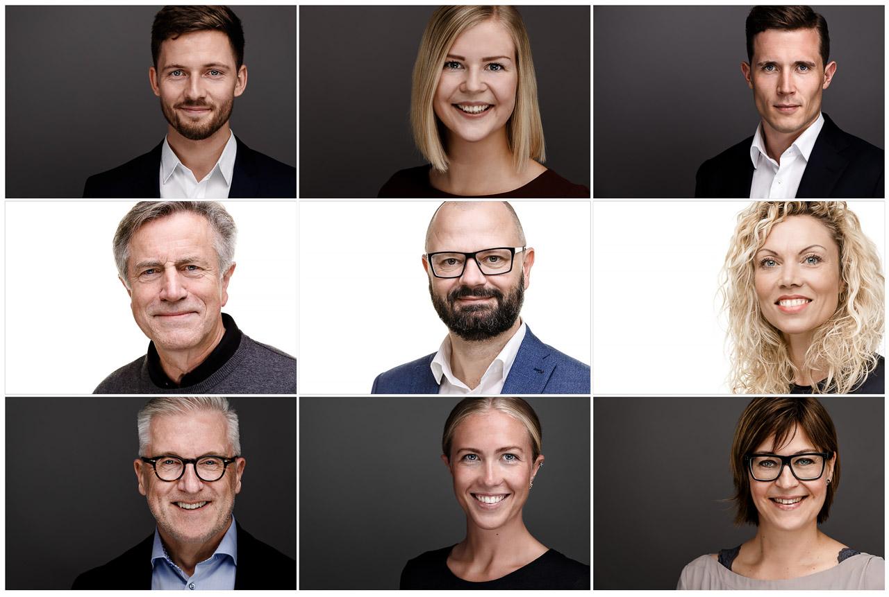 Hans Garde Portræt LinkedIn CV Fotograf